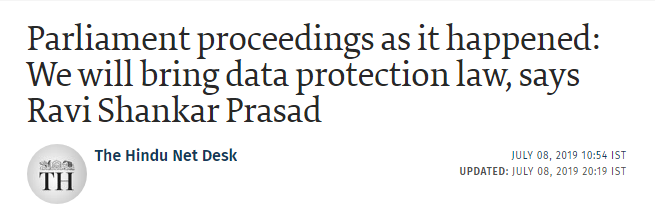Data Privacy Laws in India
